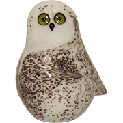 Orient & Flume Snowy Owl Paperweight