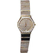 Baume & Mercier Avant Garde Ladies' Watch - Clous de Paris Design