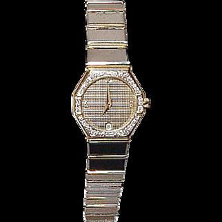 Baume & Mercier Avant Garde Ladies' Watch - Clous de Paris Design