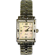 Raymond Weil Parsifal Steel and Diamond Ladies Wrist Watch
