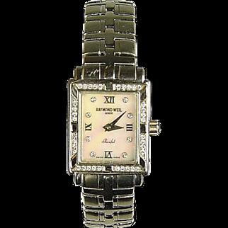 Raymond Weil Parsifal Steel and Diamond Ladies Wrist Watch