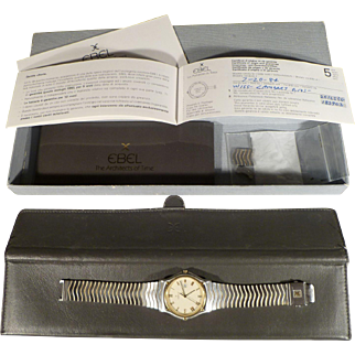 Ebel Classic Wave Men's Sport Watch - with Date Calendar