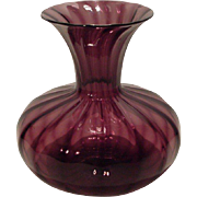 Victor Durand Amethyst Art Glass Vase