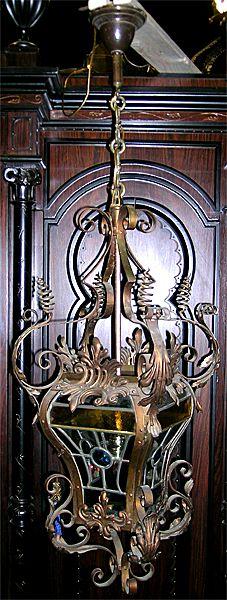 Extraordinary Victorian Hall Light Chandelier
