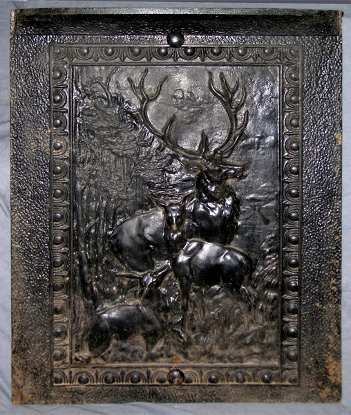 iron fireplace cover. Roll over Large image to magnify  click zoom Cast Iron Summer Cover Fireplace Insert With Deer SOLD on Ruby Lane