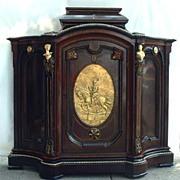 American Renaissance Revival Rosewood Parlor Cabinet