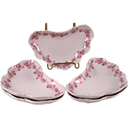 Set of Five Haviland Limoges Shaped Bowls