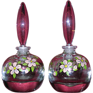 Pair of Vintage Perfume Bottles