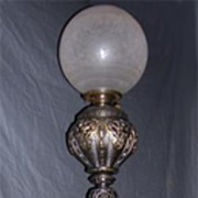 Victorian Piano Lamp With Putti