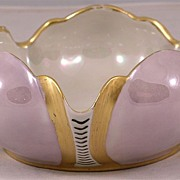 Art Deco Porcelain Bowl