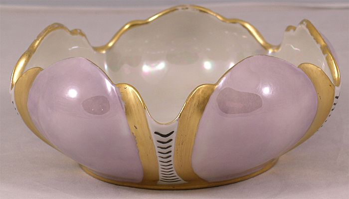 Art Deco Porcelain Bowl