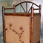 Victorian Bamboo Sheet Music or Bathroom Cabinet