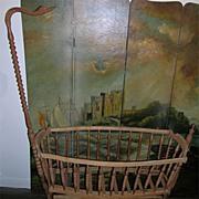 Folk Art Cradle