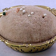 Circa 1900 Gorham Sterling Silver Pin Cushion