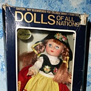 ILLCO Dolls of All Nations No. 142 Switzerland *NRFB