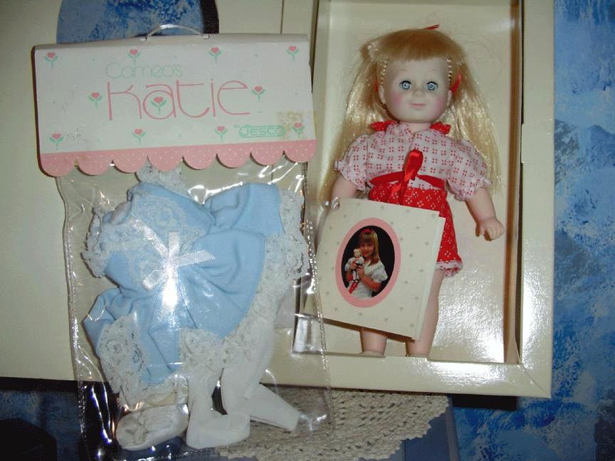 1984   Katie Doll and Cameo Jesco/ Katie Outfits *NRFB/Mint