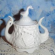 Pretty Swan Sugar Dish