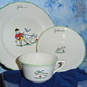 Child Porcelain Dish set