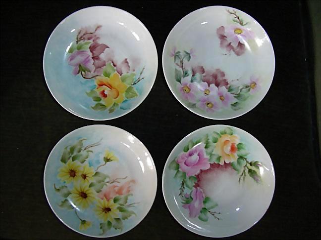 H & C, Selb, Bavaria Heinrich German Porcelain 1952 Plates