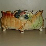 Vintage Luster Porcelain Console  Set
