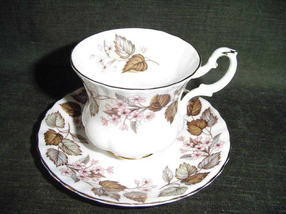 'Linden Lea' Royal Albert  Set of Cup and Saucer