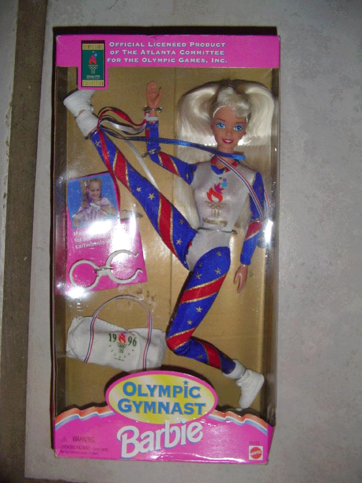1996 Atlanta Olympics Gymnast Barbie *NRFB-Mint!