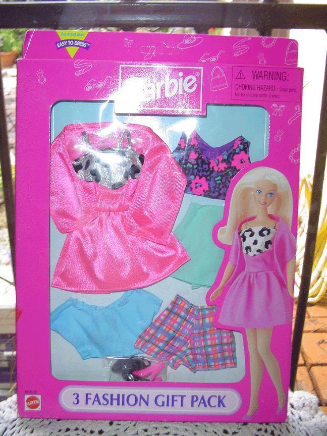 Barbie ~Fashion Avenue~ 3 Fashion Gift Pack NRFB