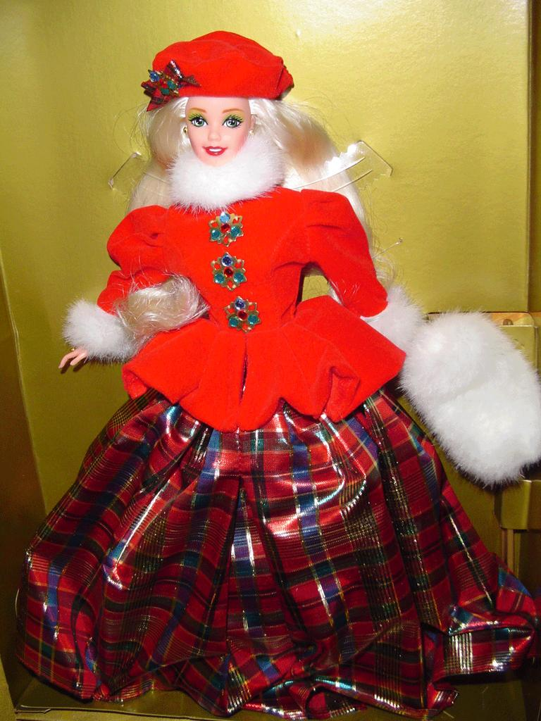 'Jewel Princess Barbie' Winter Princess- *NRFB **Retired