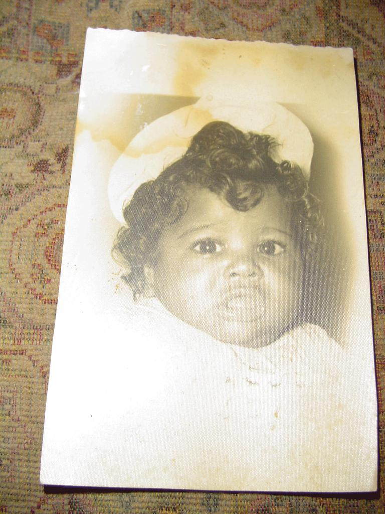 Vintage  Black Cuban  Baby Picture