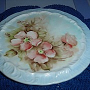 1982 Hand-Painted and Signed Trivet