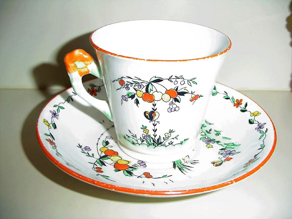 1920's Phoenix China Cup and Saucer