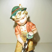 'Little Gardener'  Figurine