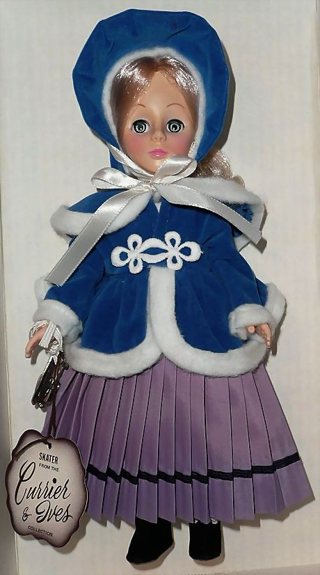 1979 Effanbee Skater Currier & Ives Girl * NRFB