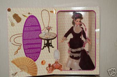NRFB 'Great Eras Victorian Lady Barbie' Mint!