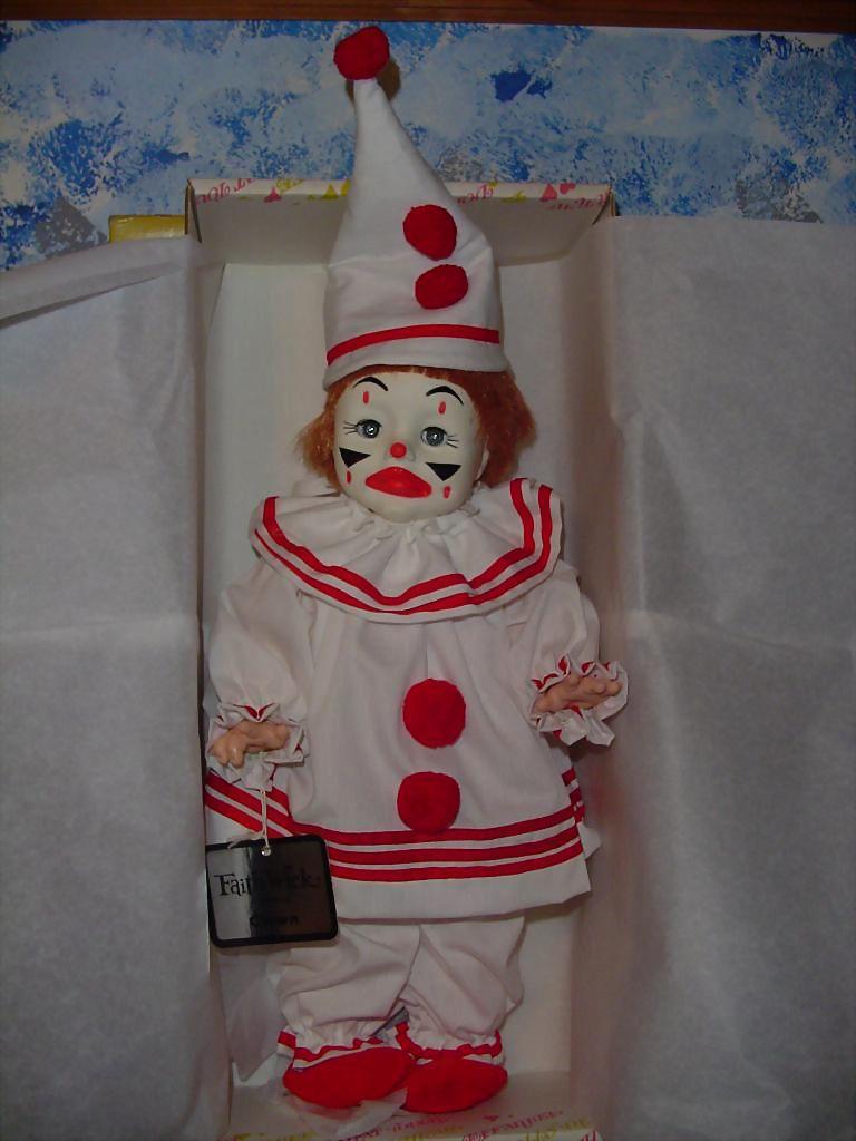 1979 Effanbee Faith Wick Girl Clown Doll MINT!