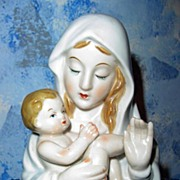 Beautiful Madonna and Child