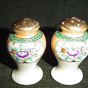 Luster Ware Set of Shakers