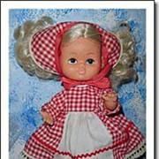 Cute Vintage Little Doll