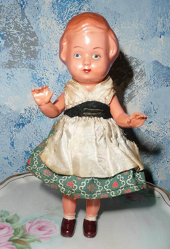 Cute Edi #16  Celluloid German Doll