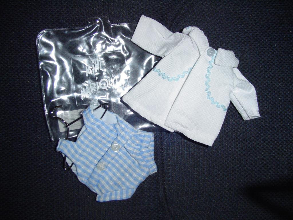 "Juanin Bebe  8"" Doll MINT Outfit. Mariquita Perez Brother"
