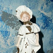 German Bisque Victorian Girl