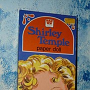1976 Whitman Shirley Temple Paper Dolls *UNCUT