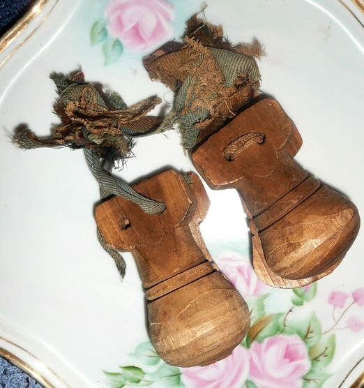 Very Old  Spanish Wood  Castanets