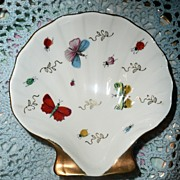 Beautiful Porcelain Butterfly Dish
