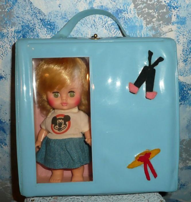 Horsman Mickey Mouse Club Doll with Doll Case