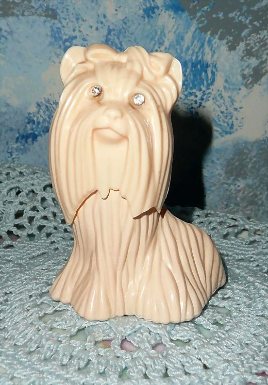 AVON  1976  'Princess of Yorkshire' Terrier Topaz Cologne