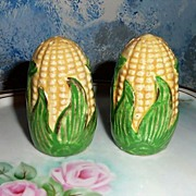 Corn Set of Salt and Pepper Shakers