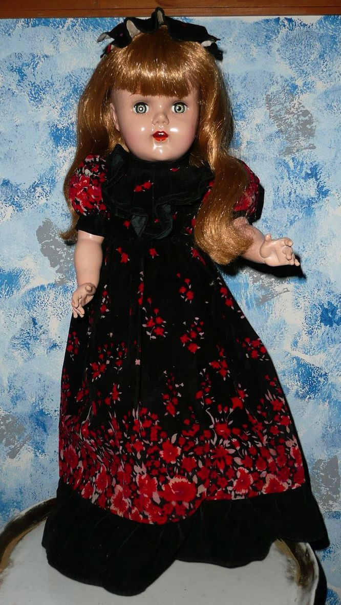 "1953 Raving Beauty 20"" doll made by Artisan"