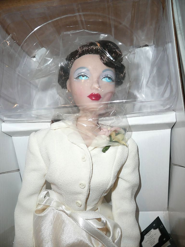 "1997 Stunning Mel Odom  signed ""White Hyacinth"" Gene Doll"