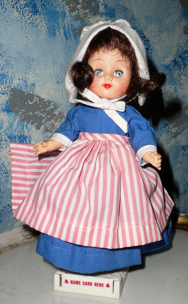 """'Gina"""" Doll Betsy Ross All Original"""